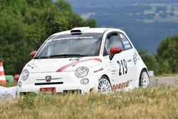 Beat Wyssen, Abarth  500 R3T, Team Rallye Top