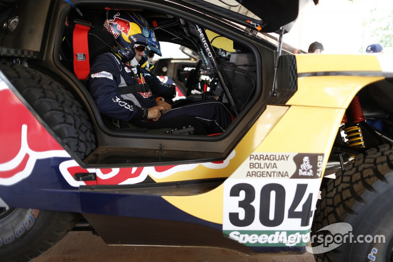 Lucas Cruz, Team Peugeot Sport, Peugeot 3008 DKR