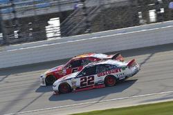 Michael Annett, JR Motorsports Chevrolet, Ryan Blaney, Team Penske Ford