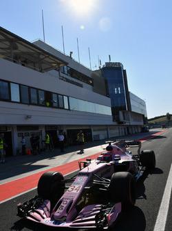 Никита Мазепин, Force India VJM10
