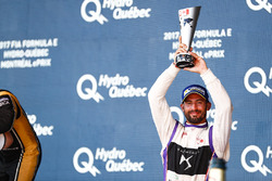 José María López, DS Virgin Racing, celebra en el podio