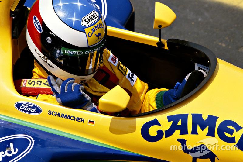1992: su primer diseño de casco