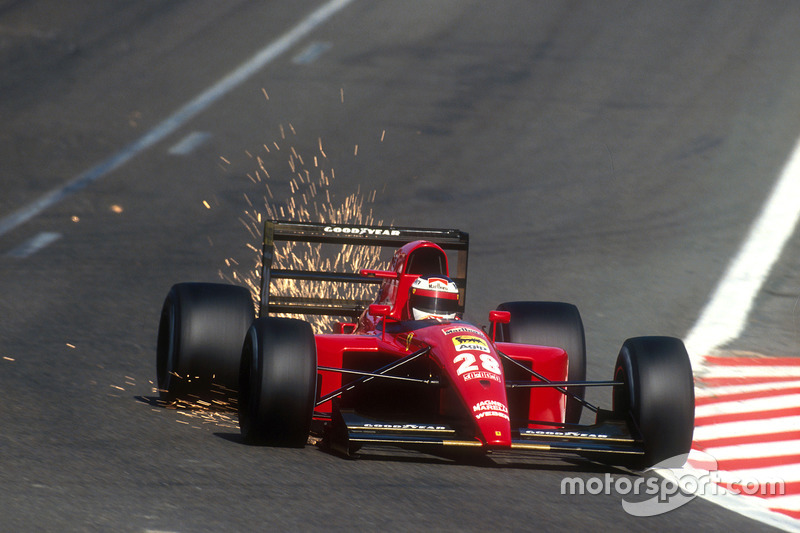 Jean Alesi, Ferrari 643 (1991)