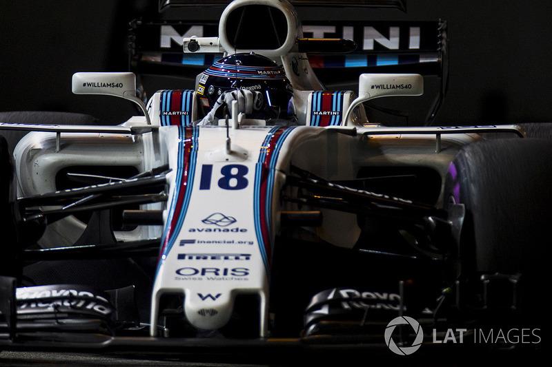 Martini Williams F1 Team (solo un piloto confirmado)