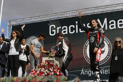 Hommages à Madrid pour Ángel Nieto