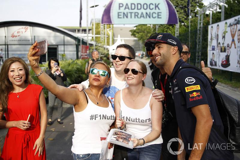 Даніель Ріккардо, Red Bull Racing, уболівальниці