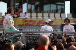 Нико Росберг, Mercedes AMG F1, Льюис Хэмилтон, Mercedes AMG F1, Макс Ферстаппен, Red Bull Racing