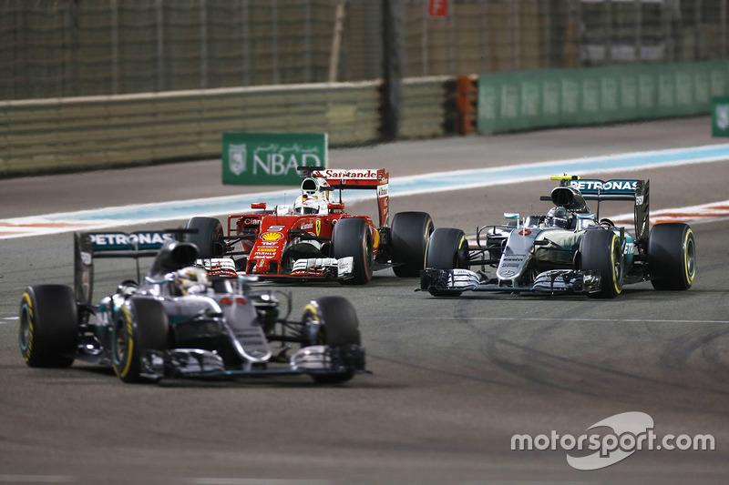 Лучшее сражение за титул: Формула 1