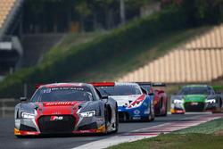 #5 Belgian Audi Club Team WRT Audi R8 LMS: Marcel Fassler, Dries Vanthoor, Will Stevens
