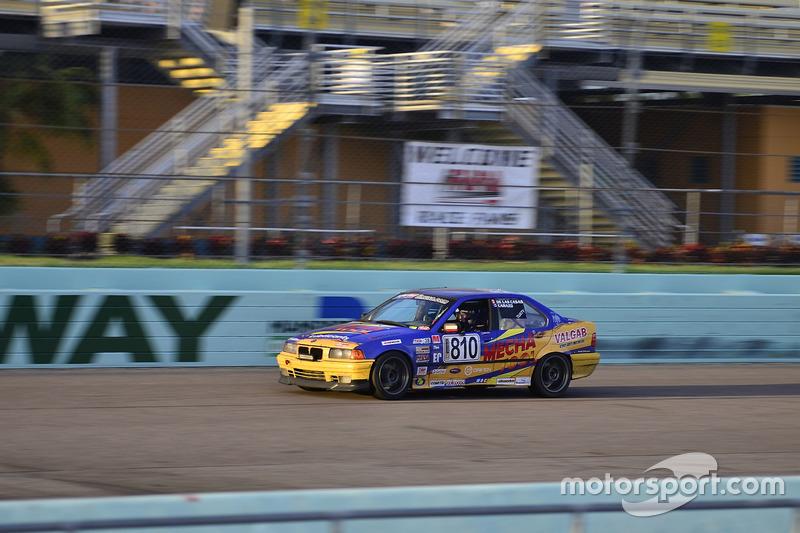 #810 MP3B BMW 325 driven by Pedro Rodriguez & Alberto De Las Casas of TML USA
