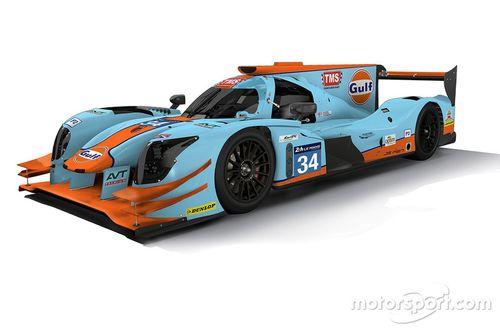 Tockwith Motorsports renk düzeni tanıtımı