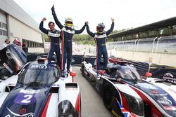 #2 United Autosports, Ligier JS P3 - Nissan: Джон Фальб и Шон Рейхолл, #32 United Autosports, Ligier JSP217 - Gibson: Уильям Оуэн, Юго де Саделер и Филипе Альбукерк