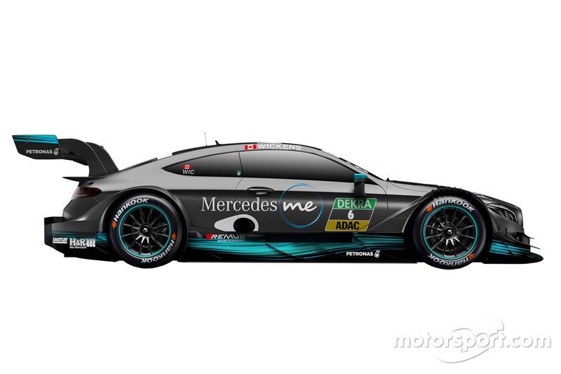 #6: Robert Wickens, Mercedes-AMG Team HWA, Mercedes-AMG C63 DTM