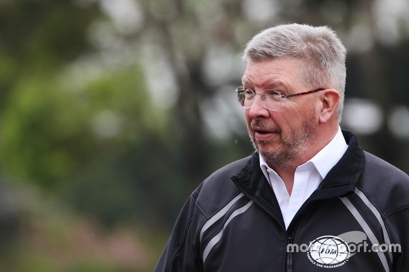 Ross Brawn, Managing Director of Motorsports, FOM