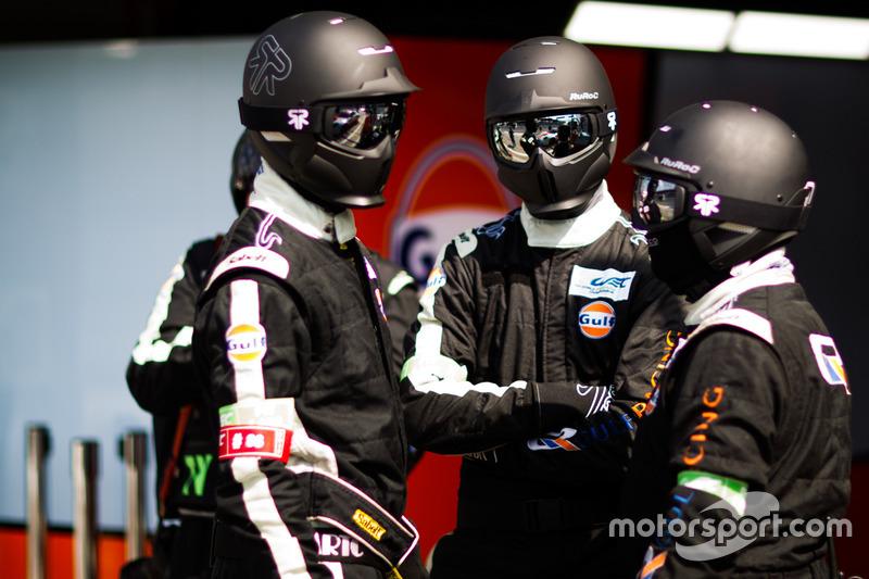 Teammitglieder: Gulf Racing