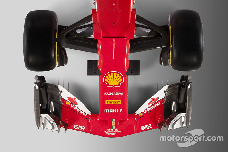 Ferrari SF70H detalle