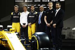 Nico Hulkenberg, Renault Sport F1 Team and Jolyon Palmer, Renault Sport F1 Team