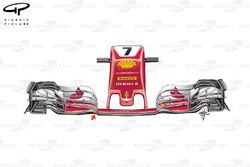 Ferrari SF70H new nose