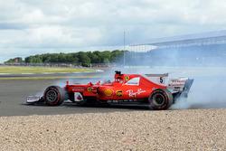 Sebastian Vettel, Ferrari SF70H gira