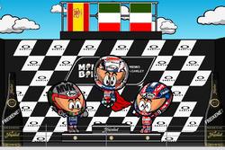 El GP de Italia 2017 de MotoGP según 'MiniBikers'