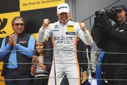 Podium: Race winner Robert Wickens, Mercedes-AMG Team HWA, Mercedes-AMG C63 DTM