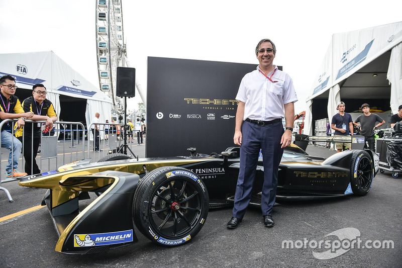 Mark Preston, Techeetah Team Principal