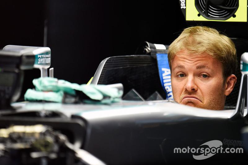 3. Nico Rosberg, Mercedes AMG F1 Team W07