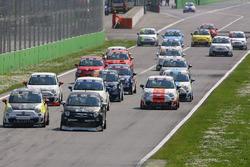 Trofeo Abarth Selenia, partenza Monza