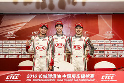1.6T Class qualifying Top 3 drivers