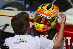 Il vincitore della gara Rio Haryanto, Campos Racing