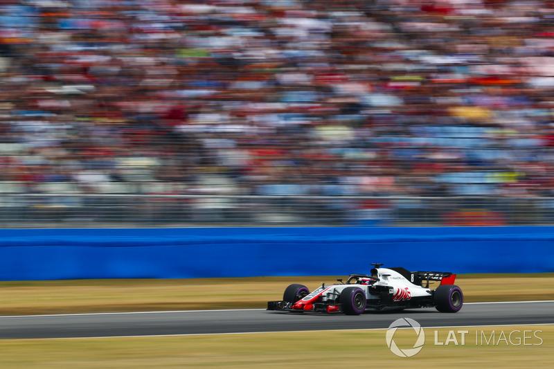 Romain Grosjean também foi bem e levou a Haas até a sexta posição