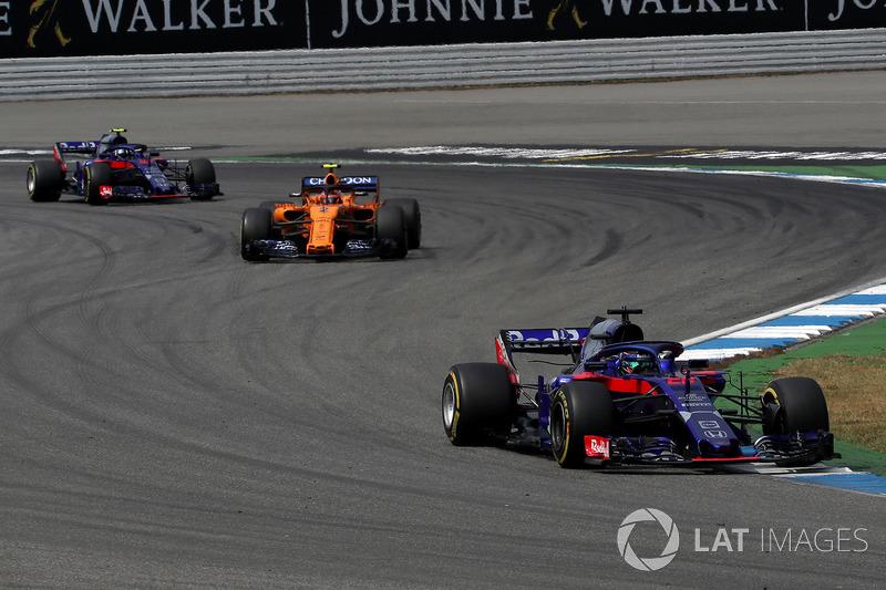 P10: Brendon Hartley, Scuderia Toro Rosso STR13