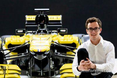 Anuncio de Renault sobre Anthoine Hubert