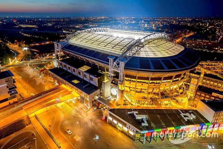 Un stade de foot
