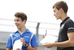 Lando Norris, Carlin. And George Russell, ART Grand Prix