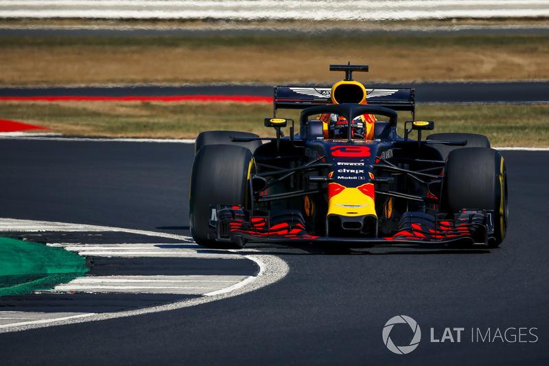 5. Daniel Ricciardo, Red Bull Racing RB14