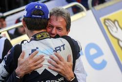Malcolm Wilson, Team principal M-Sport with Sébastien Ogier, M-Sport