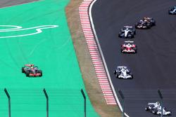 Lewis Hamilton, McLaren Mercedes MP4-22 runs wide