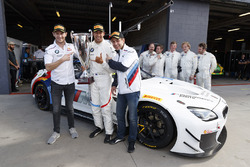 Pole sitter #43 BMW Team Schnitzer BMW M6 GT3: Augusto Farfus, Chaz Mostert, Marco Wittmann