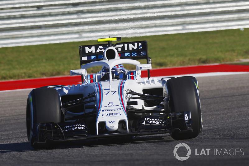 Valtteri Bottas, Williams FW38 Mercedes con el halo