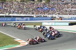 Marc Marquez, Repsol Honda Team, leads