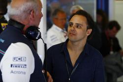 Felipe Massa, former Williams Martini Racing driver visits his old team