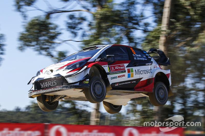 Ott Tanak, Martin Järveoja, Toyota Yaris WRC, Toyota Racing