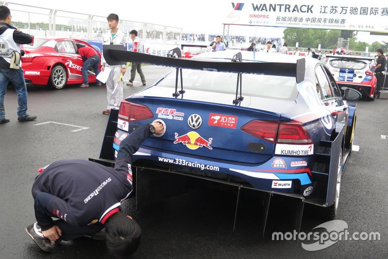 333 Race car rear
