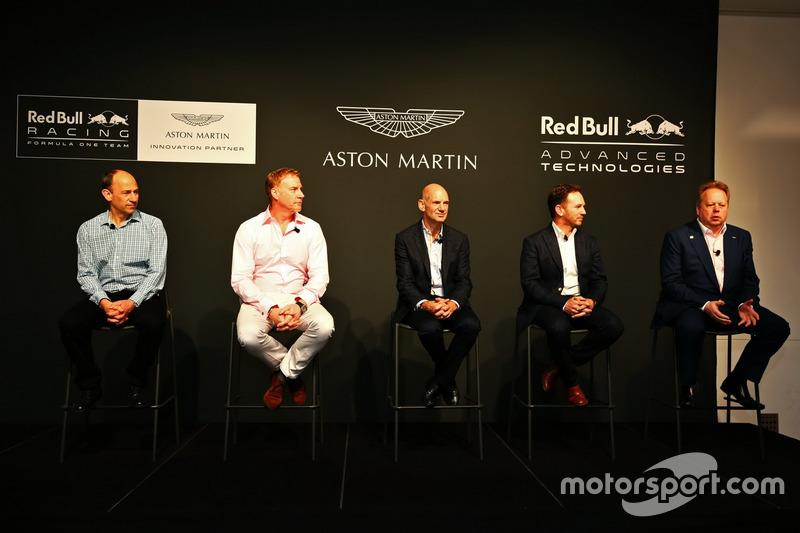 Andy Palmer Chief Executive Officer Aston Martin Christian Hormer