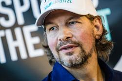 Race of Champions President Fredrik Johnsson