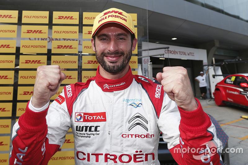 Polesitter: José María López, Citroën World Touring Car Team, Citroën C-Elysée WTCC
