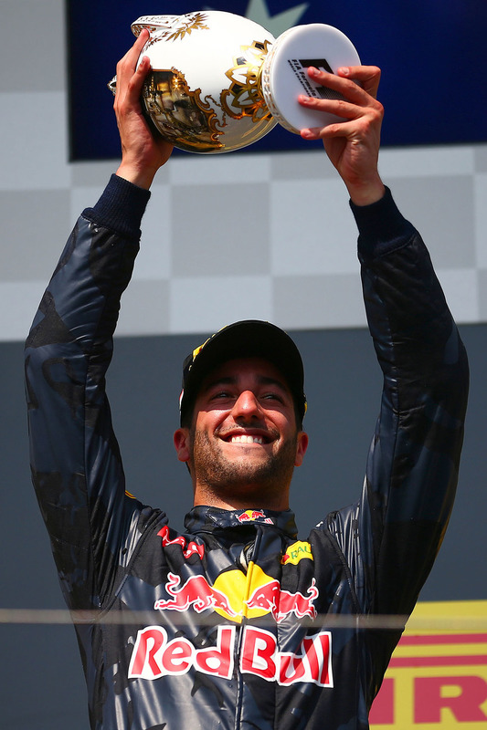 Podium: 3. Daniel Ricciardo, Red Bull Racing