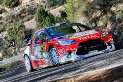 Sheik Khalid Al-Qassimi, Chris Patterson, Citroën DS3 WRC, Abu Dhabi Total World Rally Team