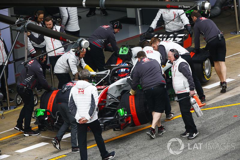 Haas, плохой прогноз: затеряется на последних позициях зачета